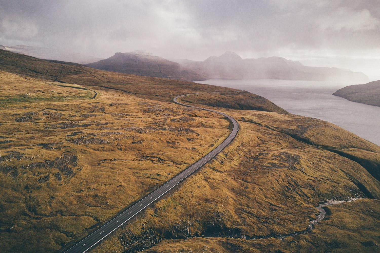 Faroe Islands Florian Besser Travel Färör Inseln Reise Foto Drohne Drone Helicopter