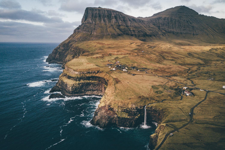 Faroe Islands Florian Besser Travel Färör Inseln Reise Foto Dror Drohne Helikopter