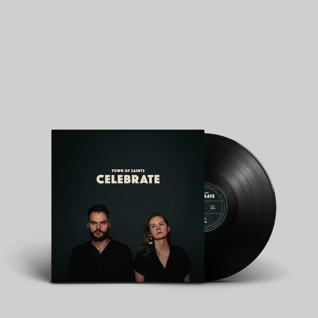 Town of Saints Album Cover Celebrate EP Vinyl